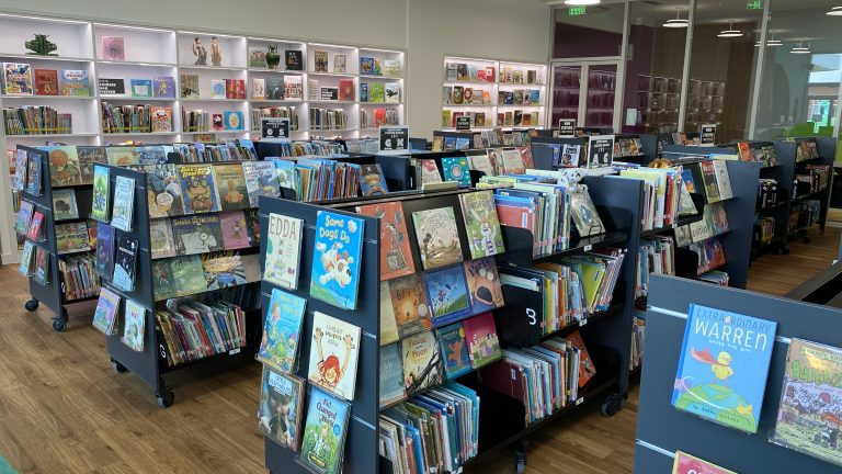 ISB ES Library 1st floor Picture books