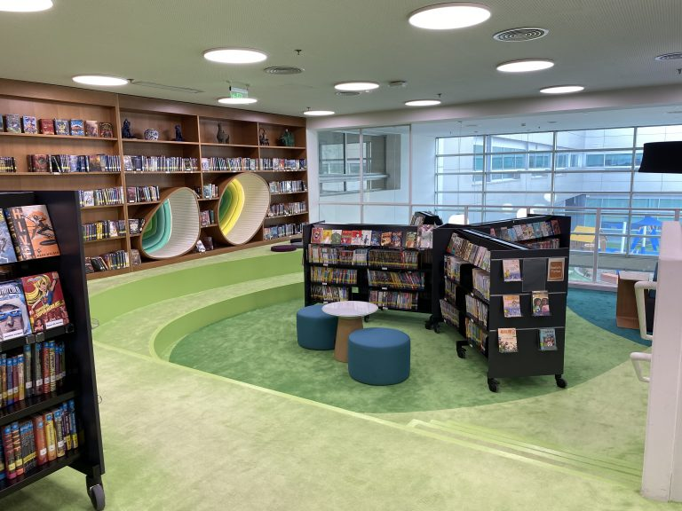 ISB ES Library 2nd floor Fiction2