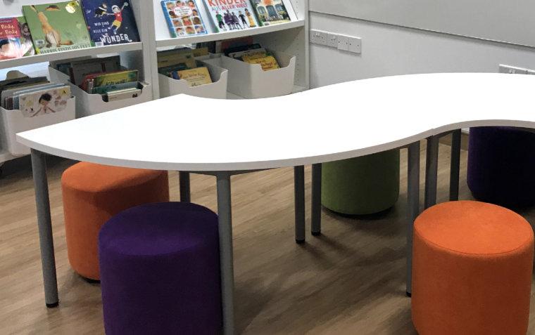 Tables Showcase Slide 01